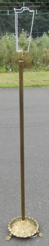 Brass Column Standard Lamp